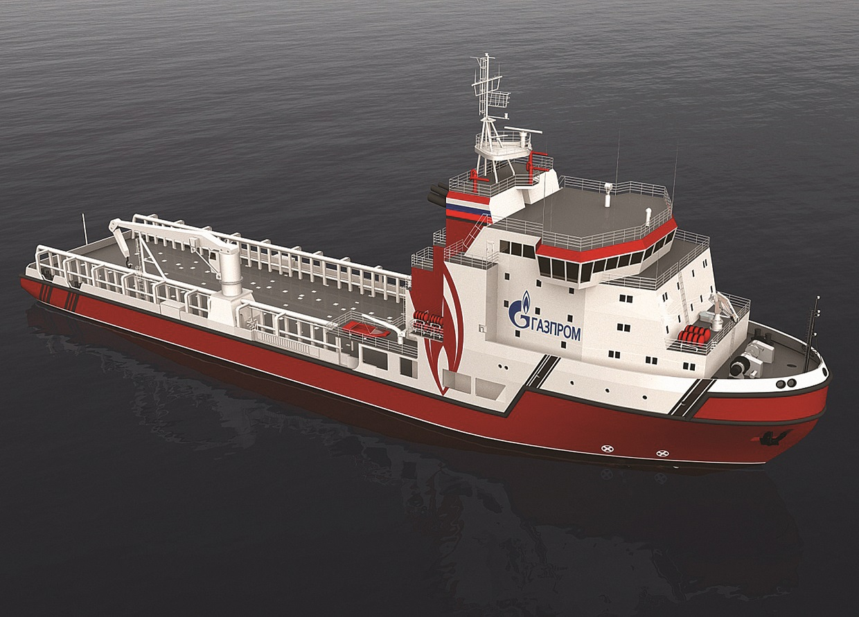 Supply vessel for operations with drilling rigs project 22420